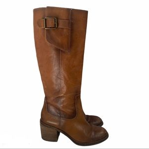 Lucky Brand Vintage Boho Tall Pull On Western Boot